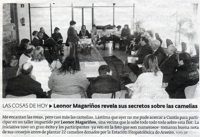 Leonor Magariños reveals her secrets about camellias