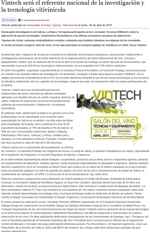 Winetech will be a national reference in wine industry research and technology