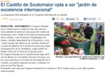 "Soutomaior Castle is candidate to become ""International garden of excellence"""