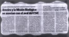 Areeiro and Misión Biológica became associate units with the support of the CSIC